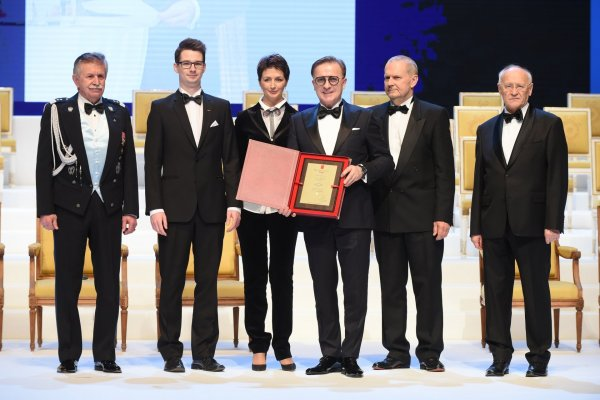 Diamond to the Golden Statuette for the Polish Business Leader